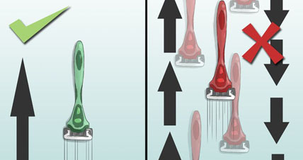 Как правильно пользоваться бритвенным станком