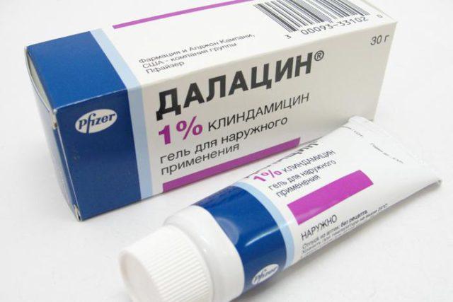 Далацин против вросших волос