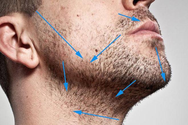 Этапы бритья опасной бритвой