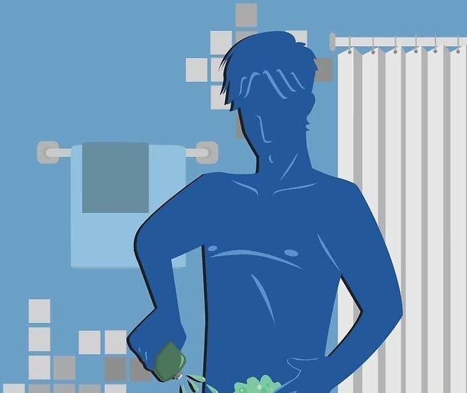 Как брить пах мужчине