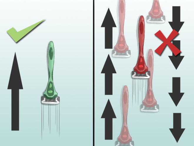 Как брить зону бикини правильно