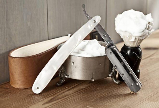 Что понадобится для бритья опасной бритвой